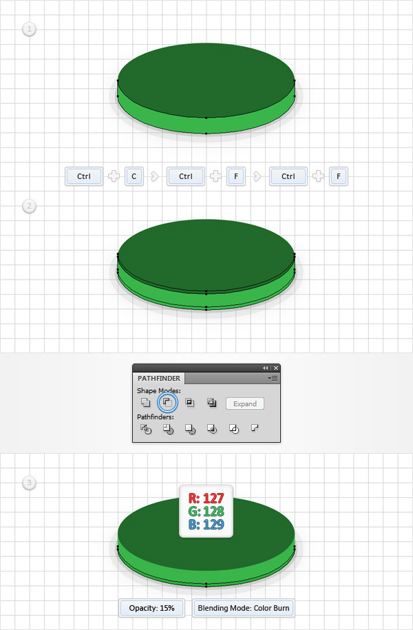 How to Create a Coins Icon in Adobe Illustrator 7
