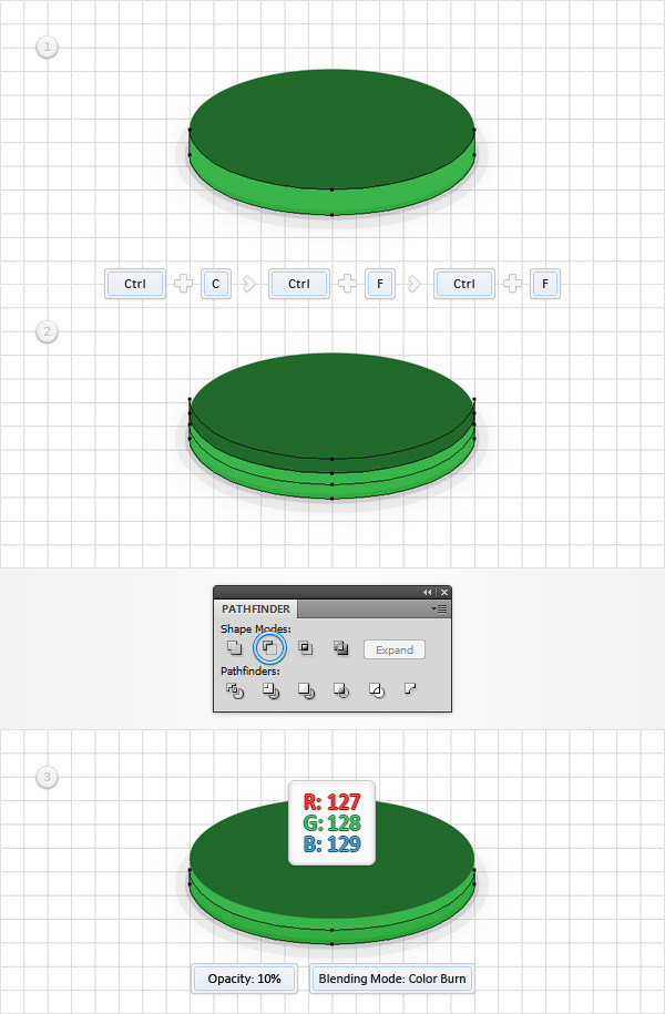 How to Create a Coins Icon in Adobe Illustrator 8