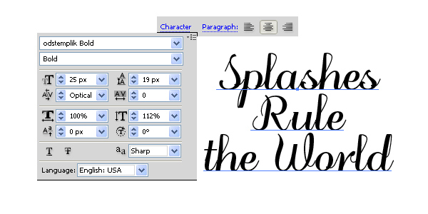 How to Create a Splashed Text Effect in Illustrator 3