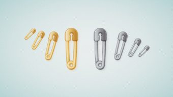 How to Create a Safety Pin Illustration in Adobe Illustrator
