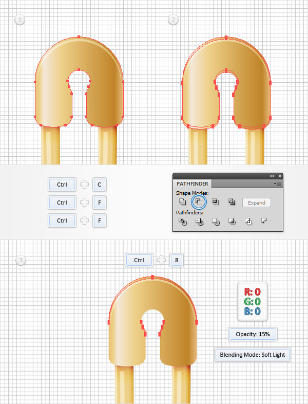 How to Create a Safety Pin Illustration in Adobe Illustrator 25