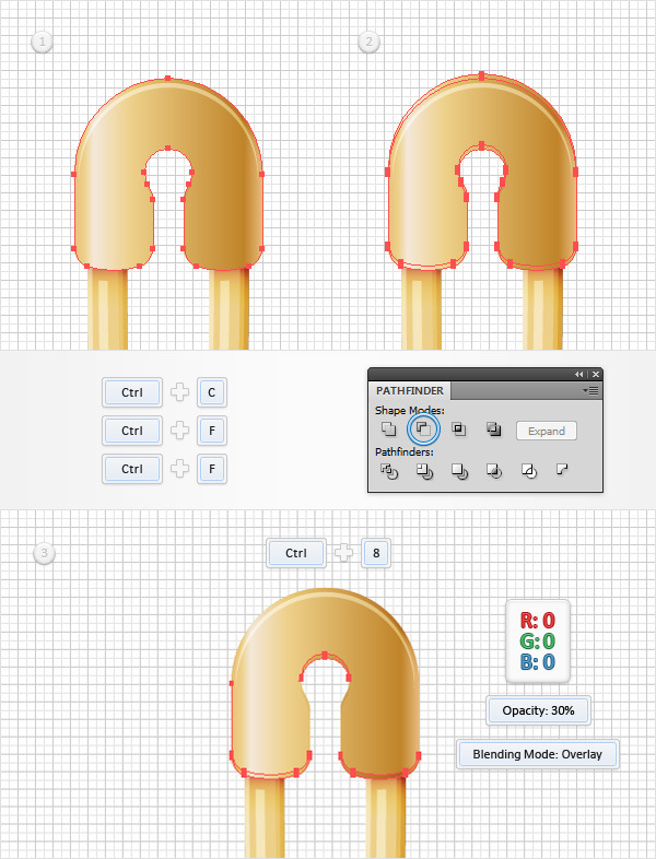 How to Create a Safety Pin Illustration in Adobe Illustrator 26