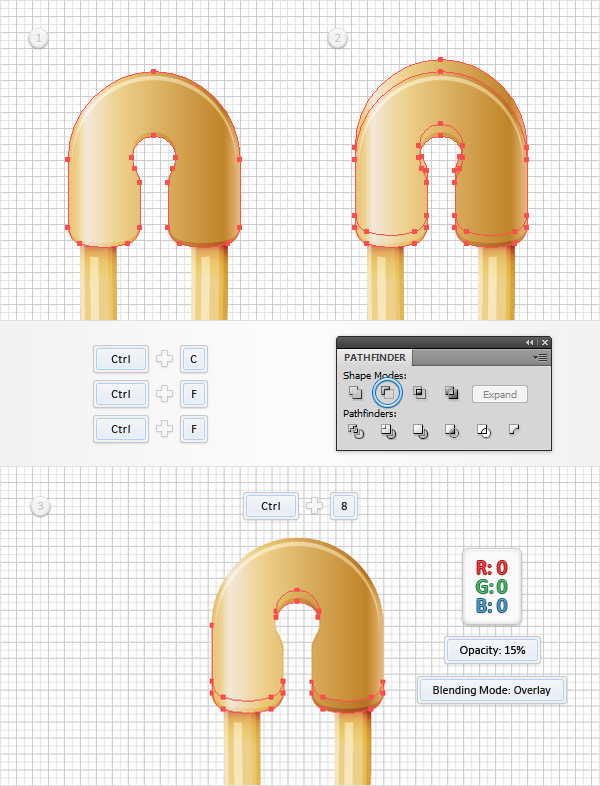 How to Create a Safety Pin Illustration in Adobe Illustrator 27