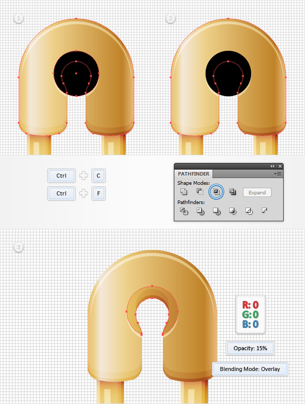 How to Create a Safety Pin Illustration in Adobe Illustrator 30