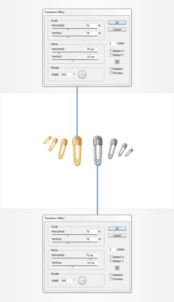How to Create a Safety Pin Illustration in Adobe Illustrator 35