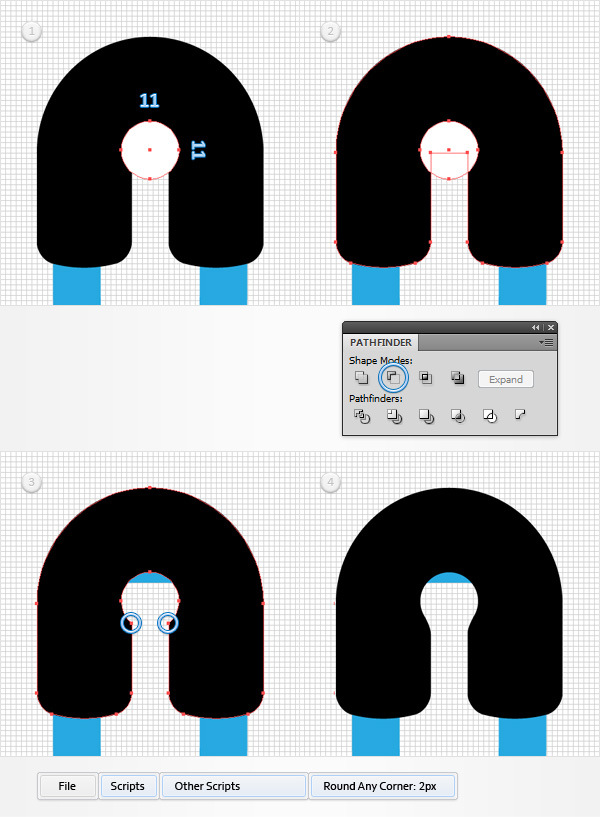 How to Create a Safety Pin Illustration in Adobe Illustrator 6