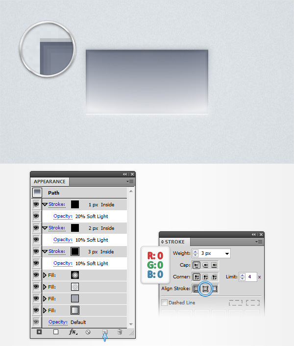 How to Create a Neat Switch Button in Adobe Illustrator 10