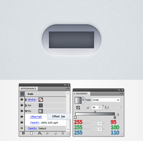 How to Create a Neat Switch Button in Adobe Illustrator 13
