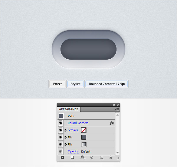 How to Create a Neat Switch Button in Adobe Illustrator 14