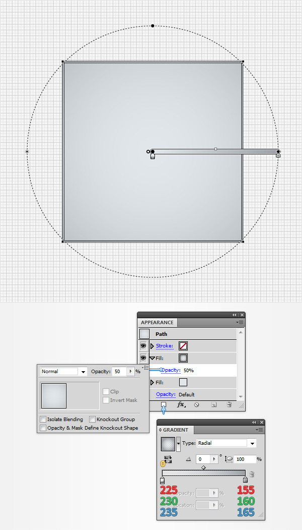 How to Create a Neat Switch Button in Adobe Illustrator 3