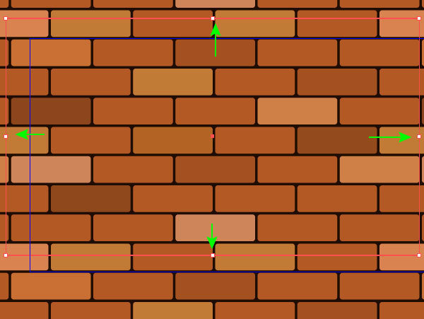 how to draw a brick wall in illustrator
