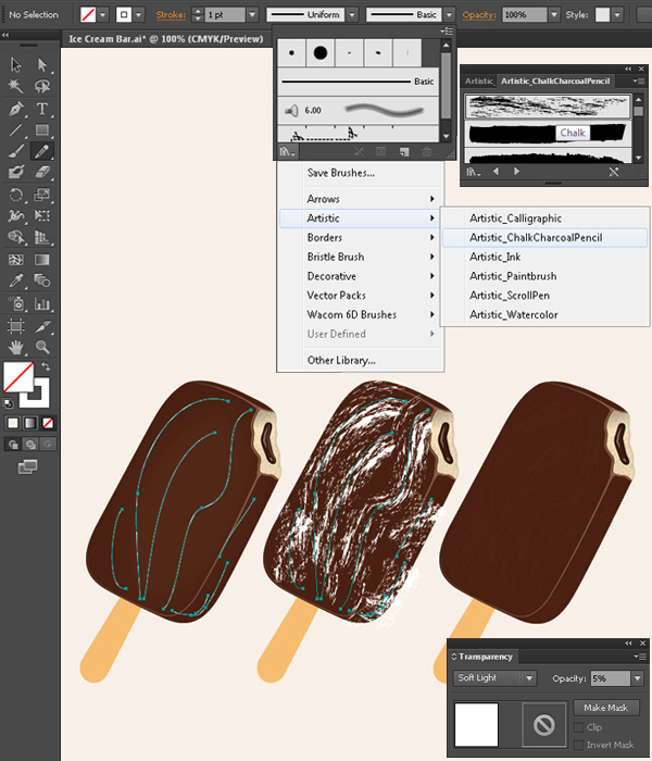 Create a Delicious Ice Cream Bar in Adobe Illustrator 21