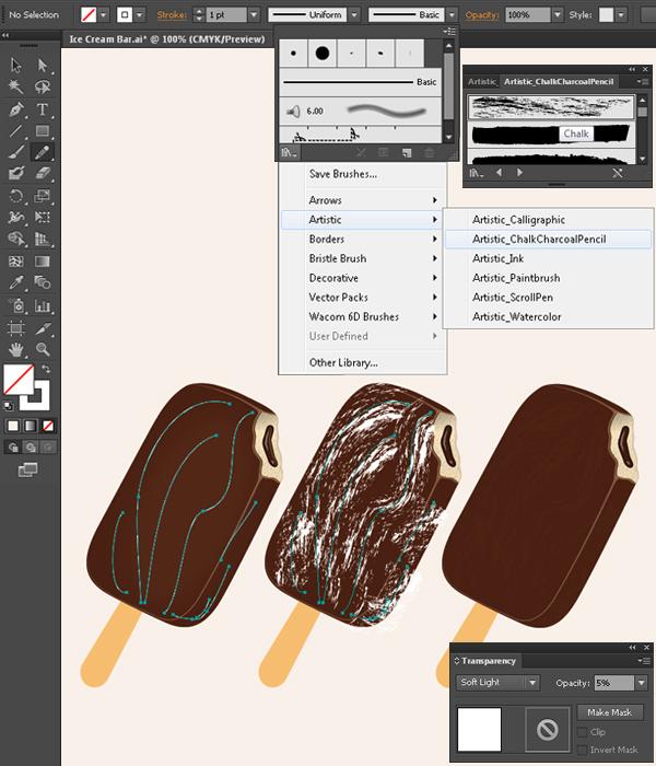 Create a Delicious Ice Cream Bar in Adobe Illustrator 21