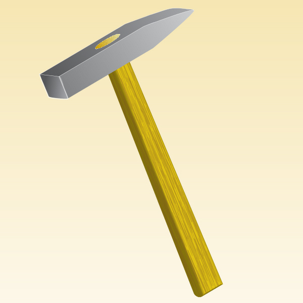 How to Illustrate a Hammer