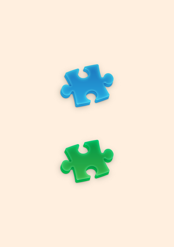 How to Create a Puzzle Piece Icon