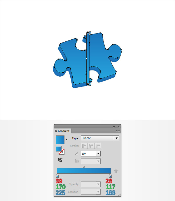How to Create a Puzzle Piece Icon 14