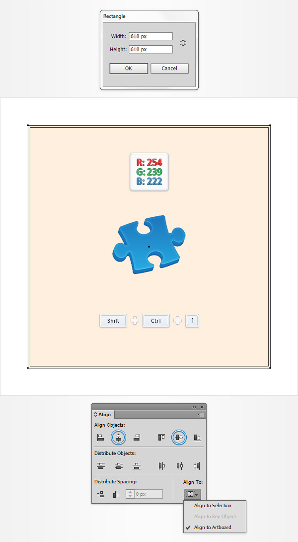 How to Create a Puzzle Piece Icon 16