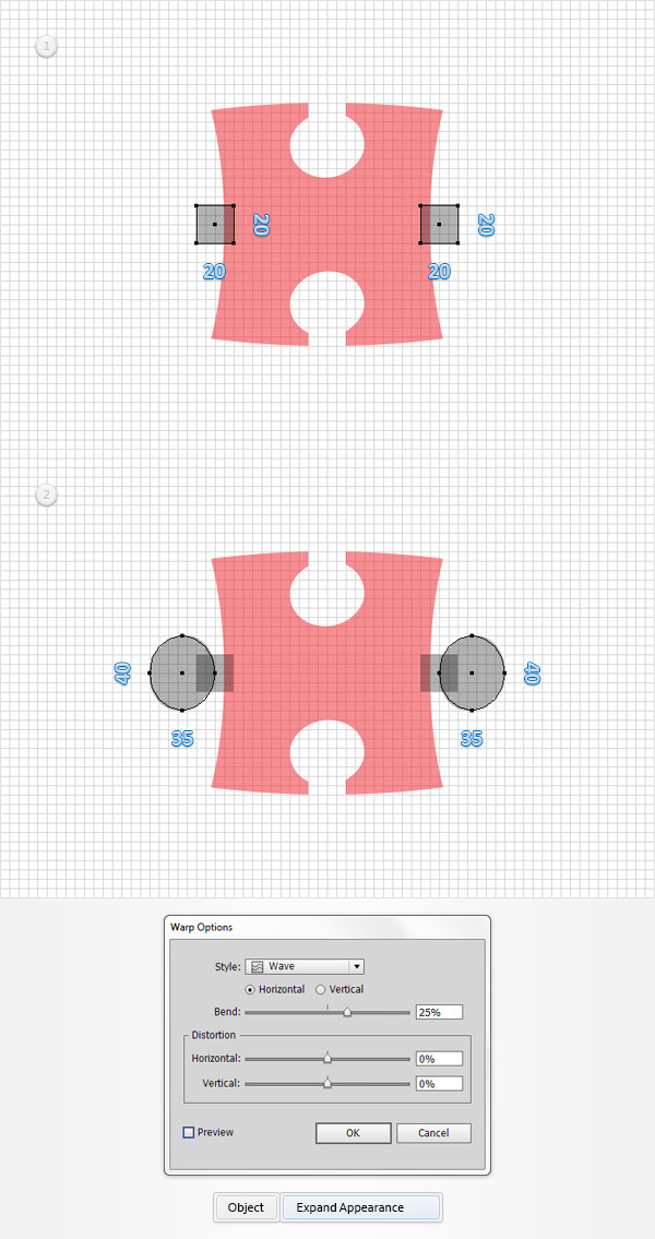 How to Create a Puzzle Piece Icon 6