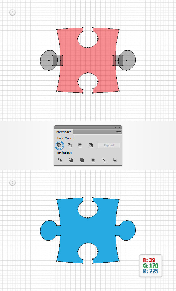 How to Create a Puzzle Piece Icon 7