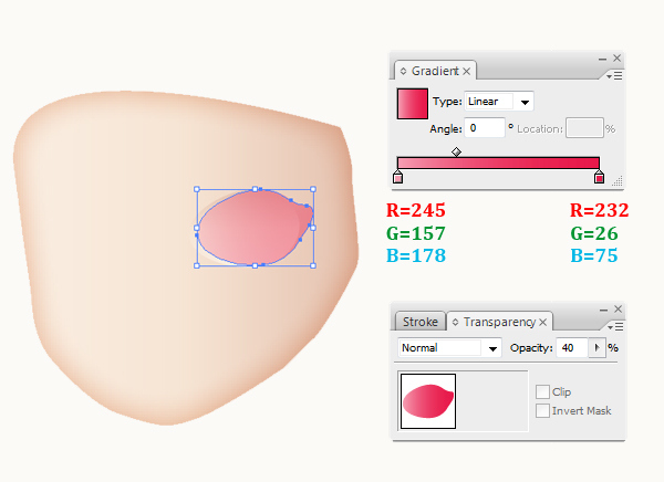 how to make a shape smaller in illustrator