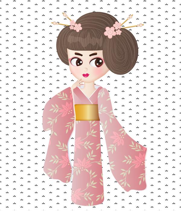 Create a Geisha Girl in Adobe Illustrator 11