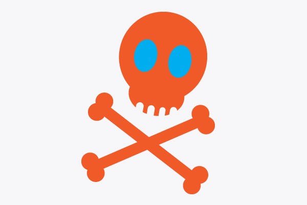 Draw a vector pirate cartoon character in Adobe Illustrator
