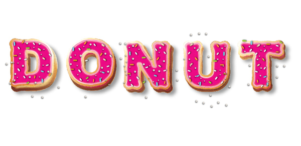 Create Yummy Donut Text Effect in Adobe Illustrator 18