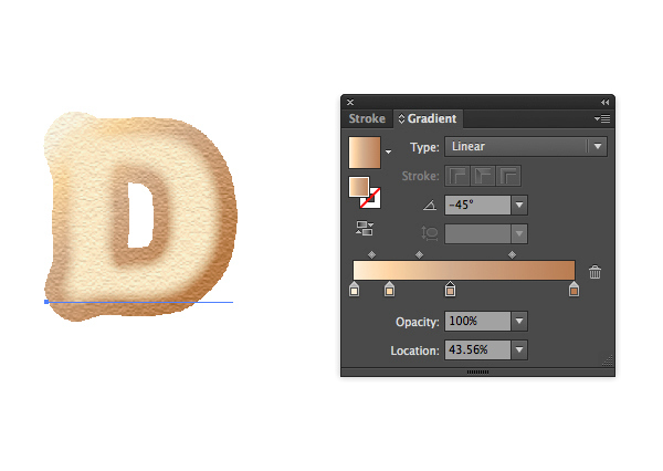 Create Yummy Donut Text Effect in Adobe Illustrator 4