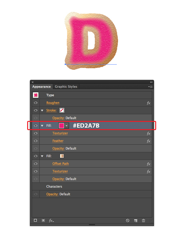 Create Yummy Donut Text Effect in Adobe Illustrator 5