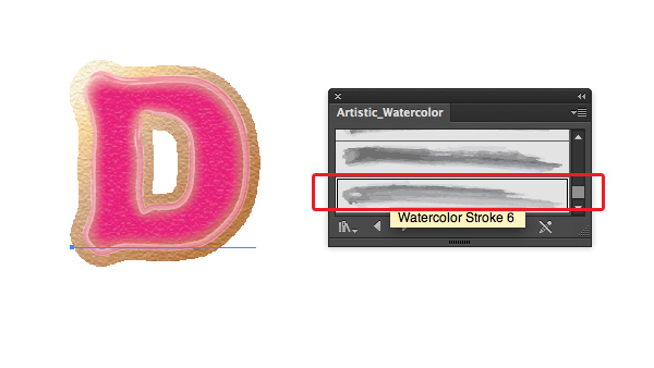 Create Yummy Donut Text Effect in Adobe Illustrator 6