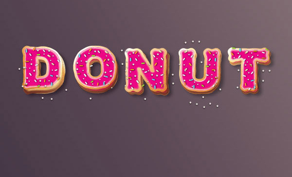 Create Yummy Donut Text Effect in Adobe Illustrator