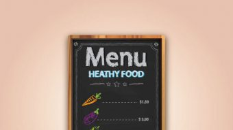 Create a Chalkboard Menu in Adobe Illustrator