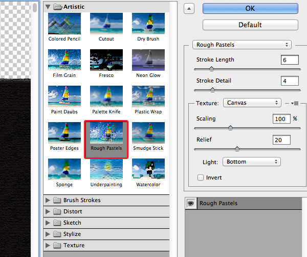 Create a Chalkboard Menu in Adobe Illustrator 7