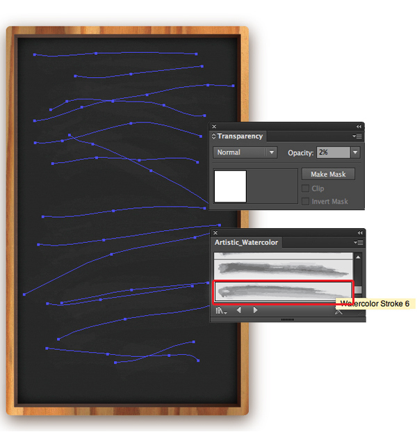 Create a Chalkboard Menu in Adobe Illustrator 9