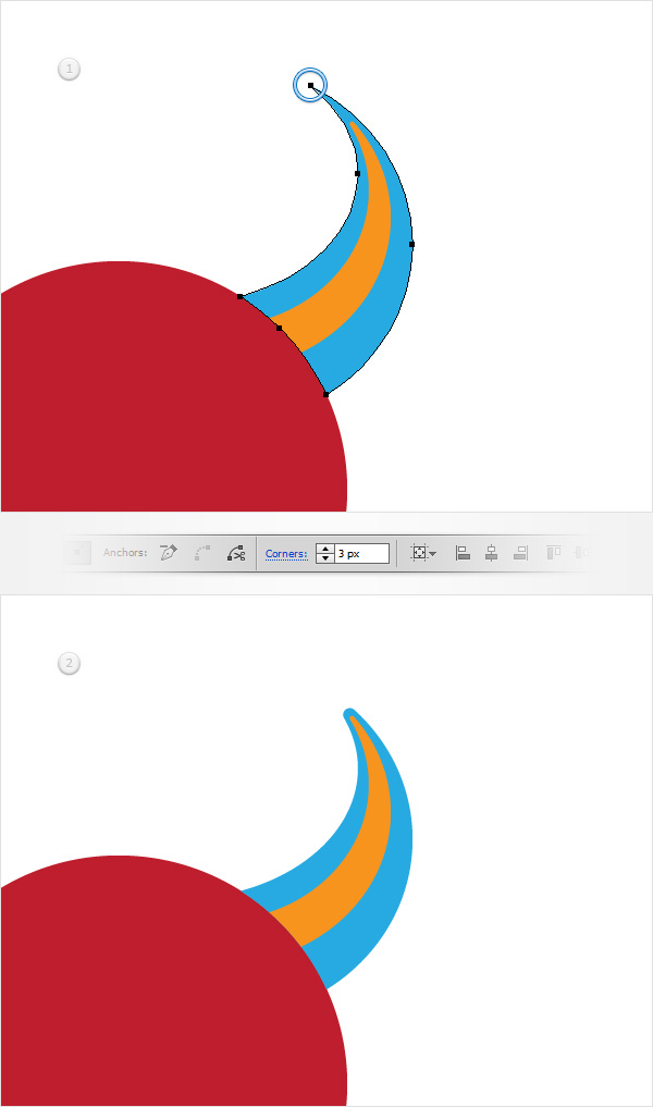 How to Create a Devil Horns Toy Illustration 10