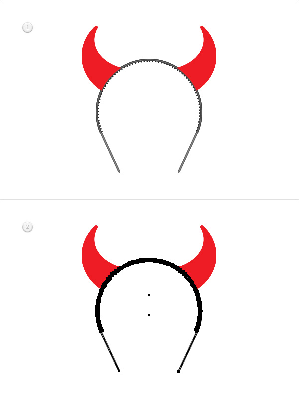 How to Create a Devil Horns Toy Illustration 26