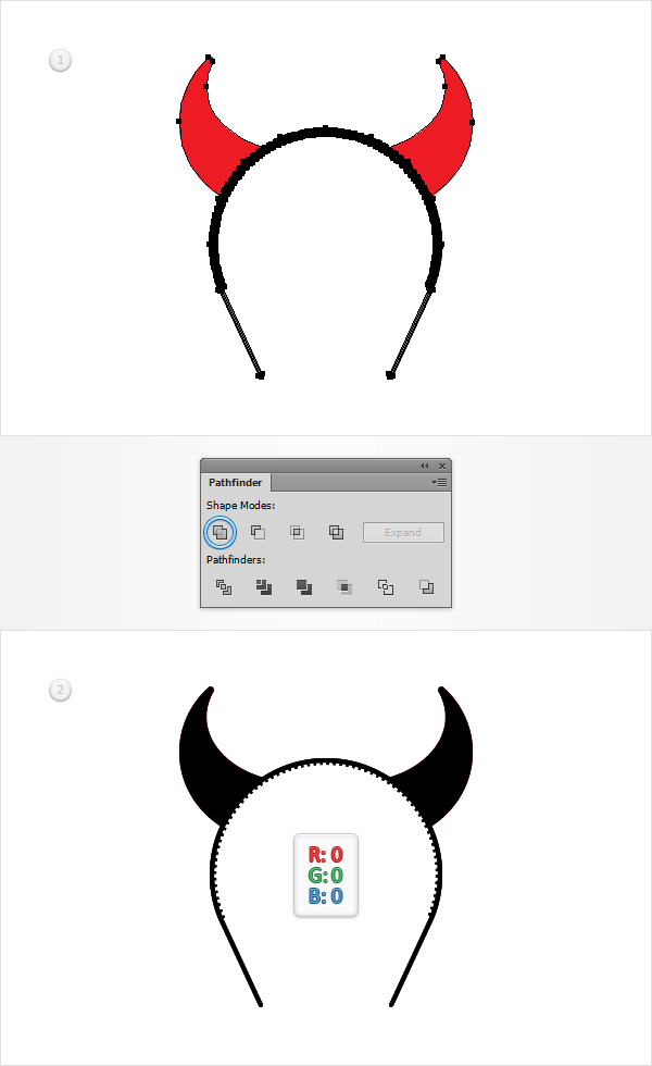 How to Create a Devil Horns Toy Illustration 27