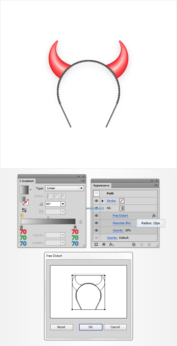 How to Create a Devil Horns Toy Illustration 28