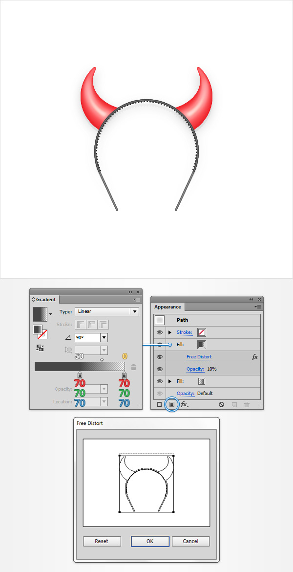 How to Create a Devil Horns Toy Illustration 29