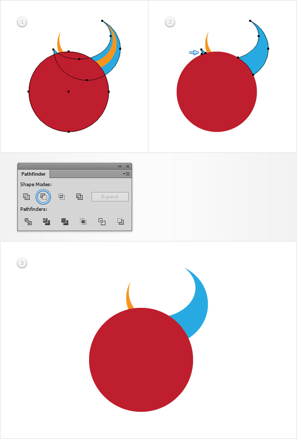 How to Create a Devil Horns Toy Illustration 7