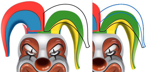 How to Create a Clown Face in Adobe Illustrator 101