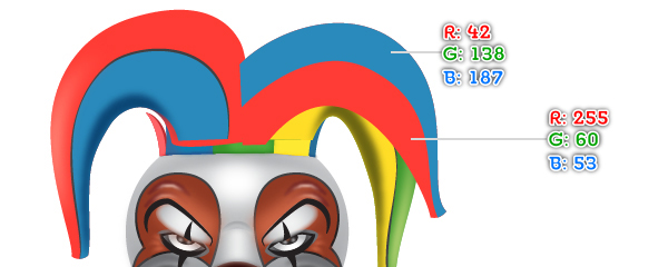 How to Create a Clown Face in Adobe Illustrator 102
