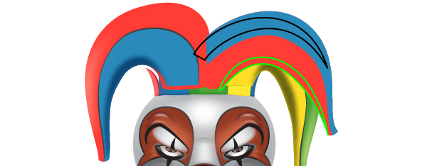 How to Create a Clown Face in Adobe Illustrator 103