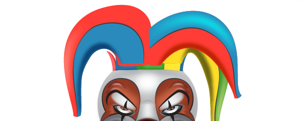 How to Create a Clown Face in Adobe Illustrator 107