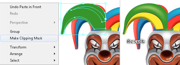 How to Create a Clown Face in Adobe Illustrator 113
