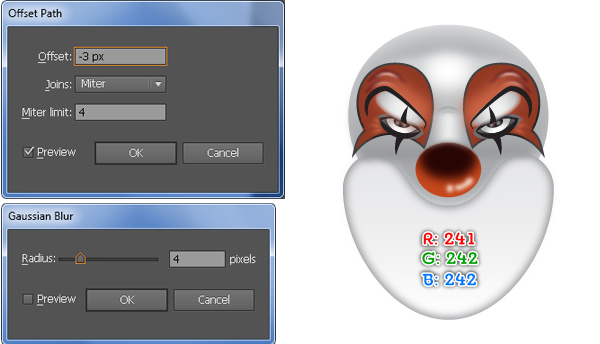 How to Create a Clown Face in Adobe Illustrator 44