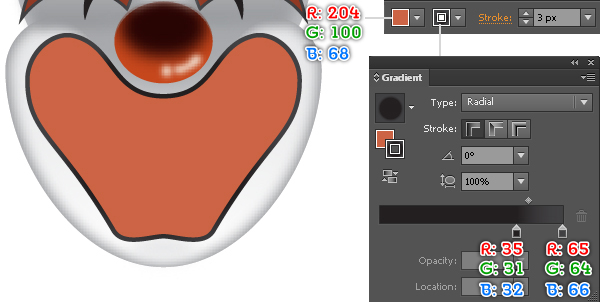 How to Create a Clown Face in Adobe Illustrator 46