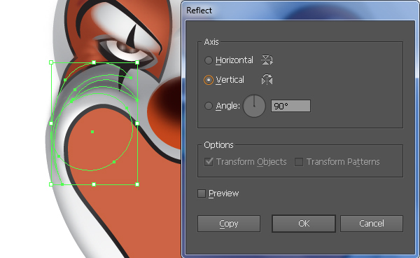How to Create a Clown Face in Adobe Illustrator 52