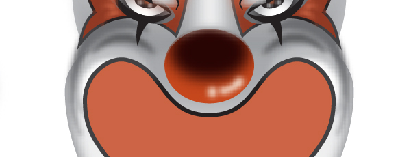 How to Create a Clown Face in Adobe Illustrator 53