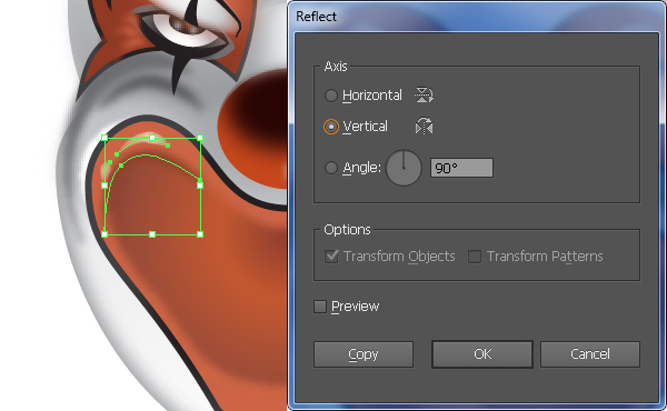 How to Create a Clown Face in Adobe Illustrator 57